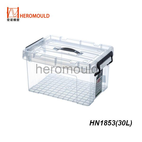 HN1853 30L plastic storage box