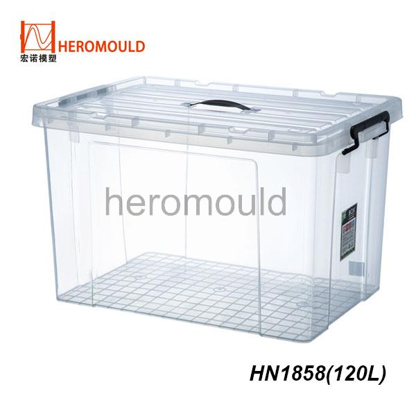 HN1858 120L plastic storage box