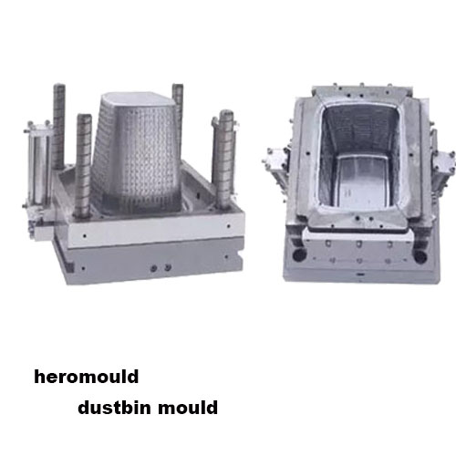 Rattan trash bin Mould
