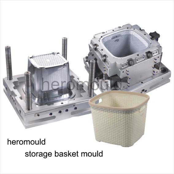 Plastic Storage Basket mould2