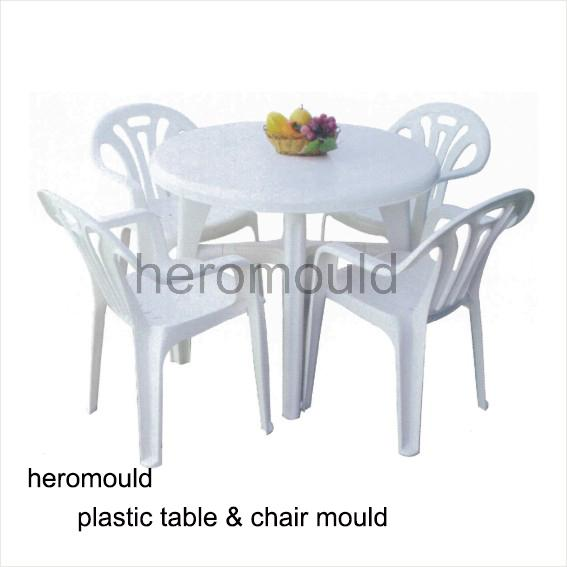 Plastic Table and Chair Set Mould