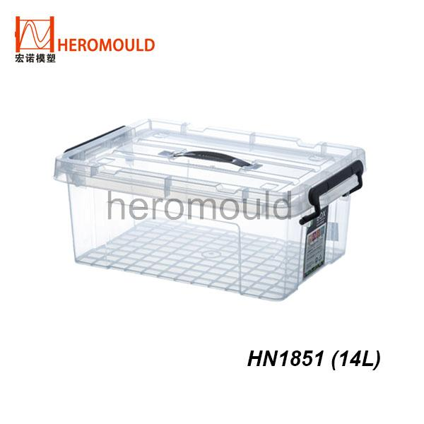 HN1851 14L plastic storage box
