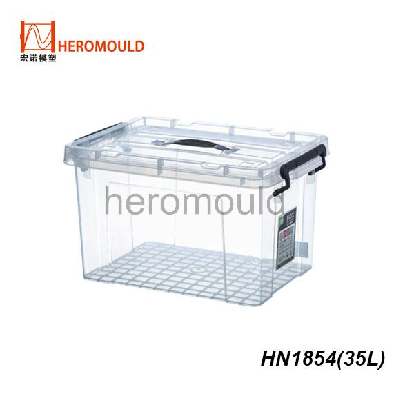HN1854 35L plastic storage box