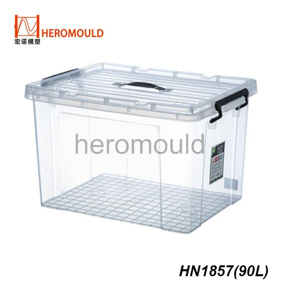 HN1857 90L plastic storage box